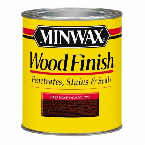 Minwax® Wood Finish Stain - Red Mahogany Perspective: front