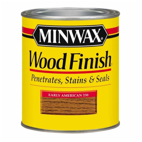 Minwax® Wood Finish Stain - Early American Perspective: front