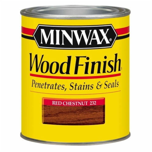 Minwax® Wood Finish® Red Chestnut Stain Perspective: front