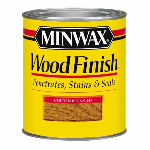 Minwax® Wood Finish Stain - Golden Pecan Perspective: front
