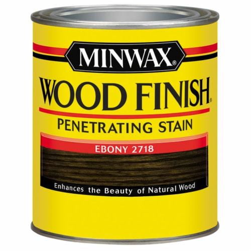Minwax® Ebony Wood Finish™ Perspective: front