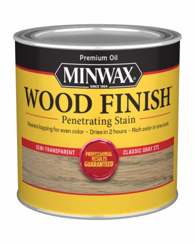 Minwax® Wood Finish Penetrating Stain - Classic Gray 271 Perspective: front