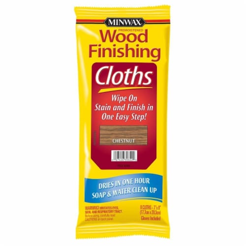 Minwax® Wood Finishing Cloths - Chestnut Perspective: front