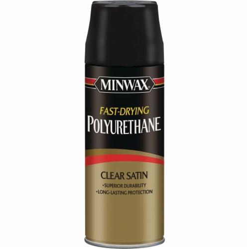 Minwax® Clear Satin Polyurethane Spray Perspective: front