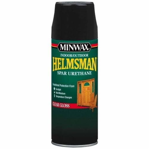 Minwax® Helmsman Clear Hi-Gloss Spray Perspective: front