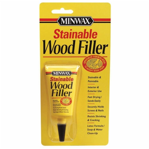 Minwax® Natural Color Stainable Wood Filler Perspective: front