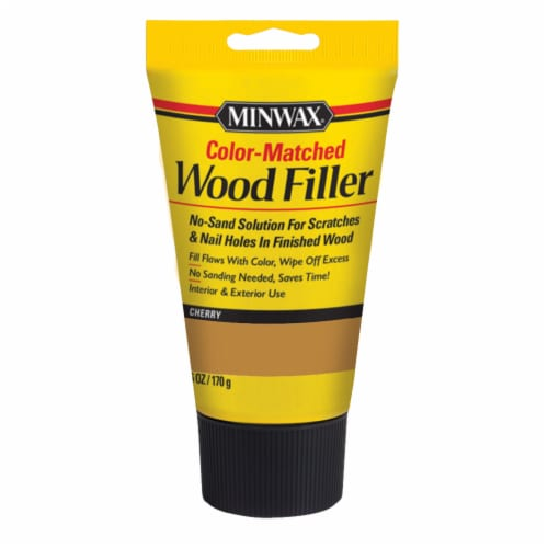 Minwax® Color-Matched Wood Filler - Cherry Perspective: front