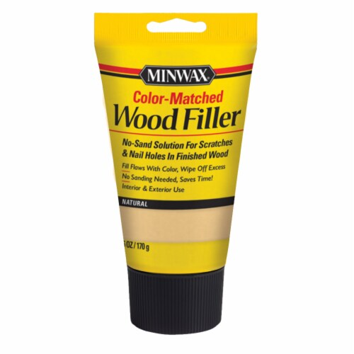 Minwax® Natural Color Color-Matched Wood Filler Perspective: front