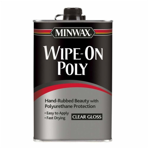 Minwax® Wipe-On Poly - Clear Gloss Perspective: front