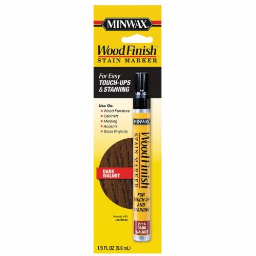 Minwax® WoodFinish™ Dark Walnut Stain Marker Perspective: front
