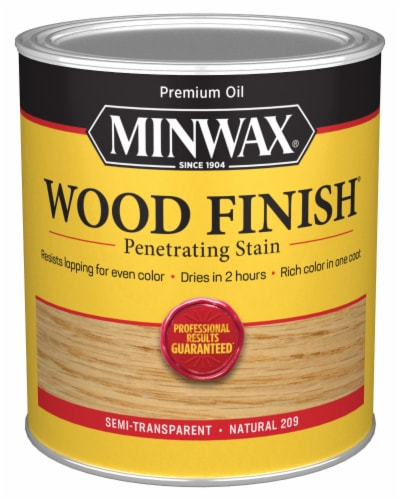 Minwax® Wood Finish Penetrating Stain - Natural Perspective: front