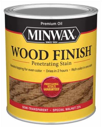 Minwax® Wood Finish Penetrating Stain - Special Walnut Perspective: front