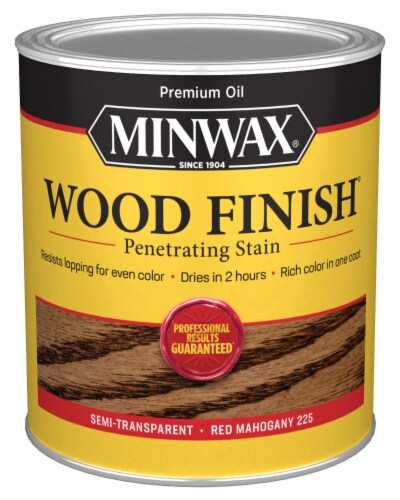 Minwax® Wood Finish Penetrating Stain - Red Mahogany Perspective: front