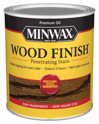 Minwax® Wood Finish Penetrating Stain - Dark Walnut Perspective: front