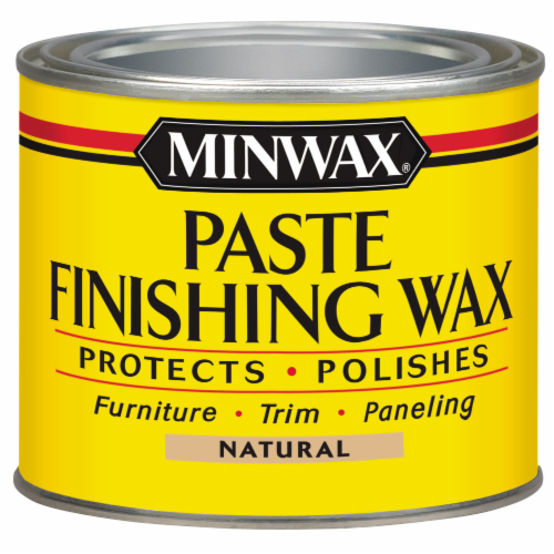 Minwax® Paste Finishing Wax - Natural Perspective: front