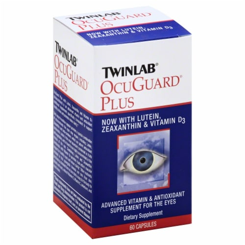 Twinlab OcuGuard Plus Dietary Supplement Perspective: front
