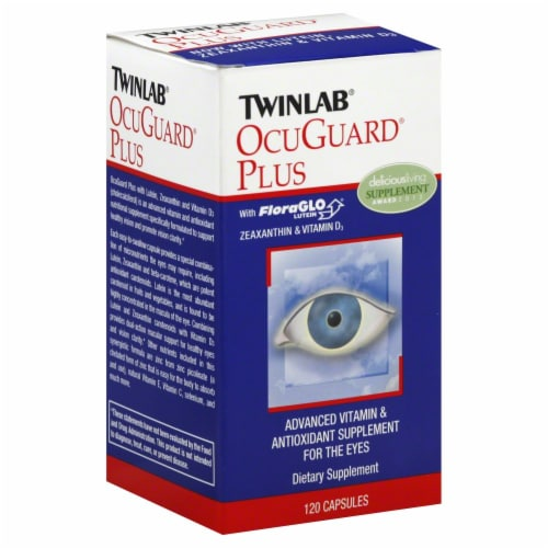 Twinlab OcuGuard Plus Caps Dietary Supplement Perspective: front
