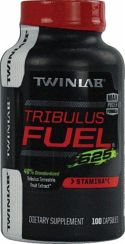 Twinlab  Tribulus Fuel® 625 Perspective: front