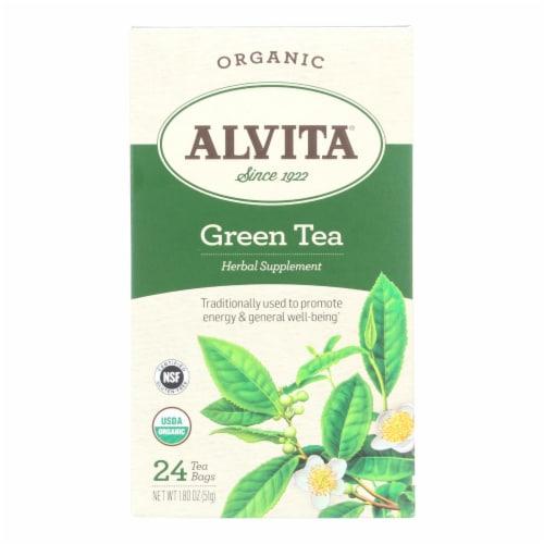 Alvita - Tea Og1 Green - EA of 1-24 BAG Perspective: front