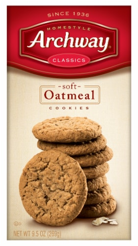 Archway Homestyle Classics Soft Oatmeal Cookies Perspective: front