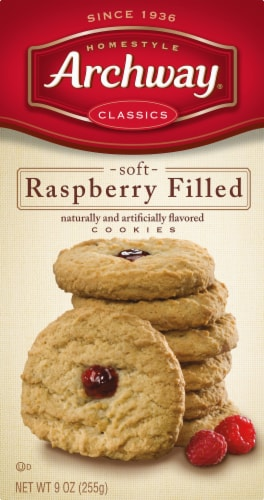 Archway Homestyle Classics Soft Raspberry Filled Cookies Perspective: front