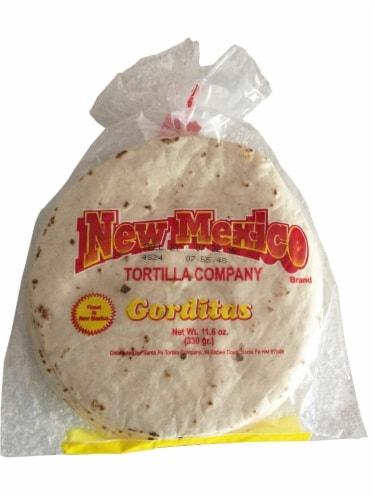 New Mexico Tortilla Company Gordita Tortillas Perspective: front