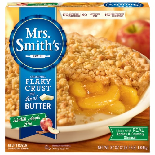 Mrs. Smith's Original Flaky Crust Dutch Apple Pie Perspective: front