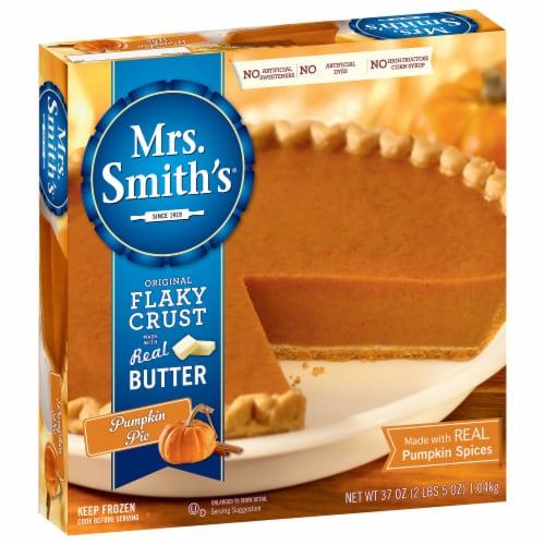 Mrs. Smith's Original Flaky Crust Pumpkin Pie Perspective: front