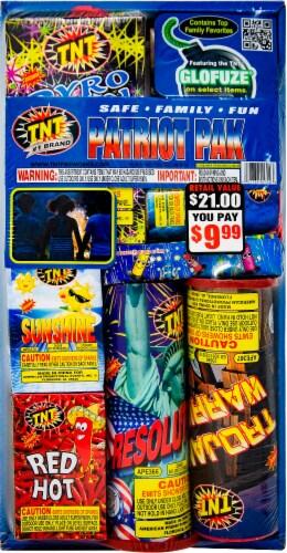 TNT Fireworks Patriot Pak Perspective: front