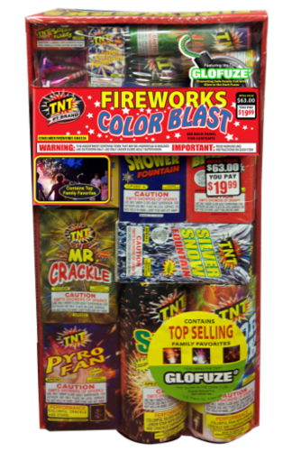 TNT Fireworks Color Blast Perspective: front