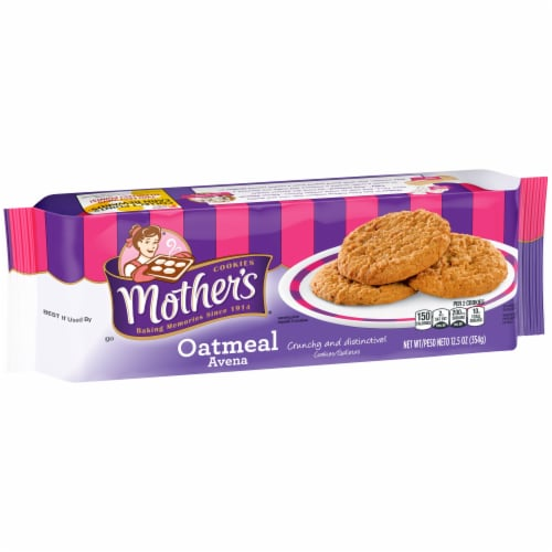 Mother's Oatmeal Cookies Perspective: front
