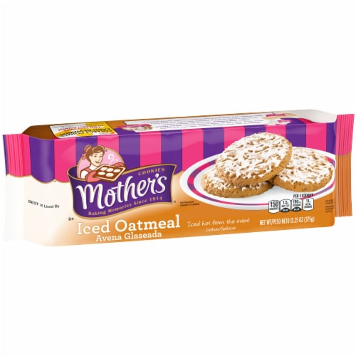 Mother's® Iced Oatmeal Cookies Perspective: front