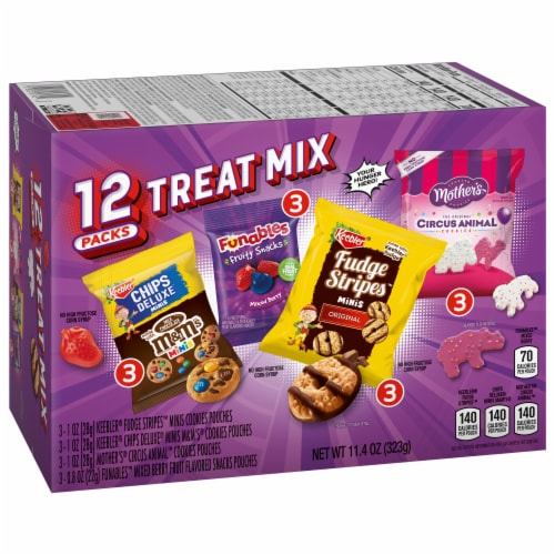 Keebler Variety Treat Packs Perspective: front