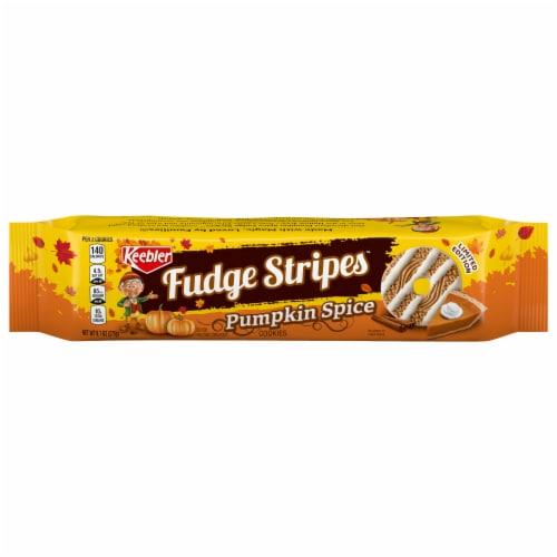 Keebler® Pumpkin Spice Fudge Stripes™ Cookies Perspective: front