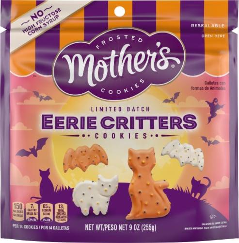 Mother's Cookies Halloween Circus Animal Cookies Perspective: front