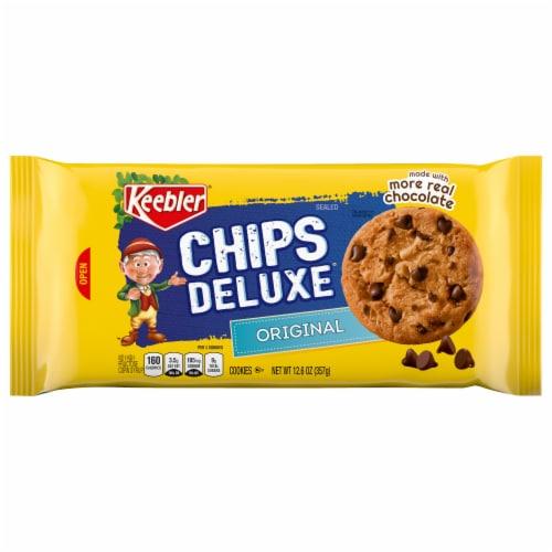 Keebler Chips Deluxe Original Cookies Perspective: front