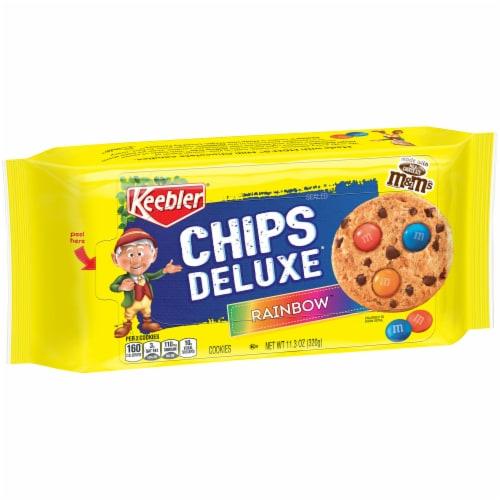 Keebler Chips Deluxe Rainbow Cookies Perspective: front