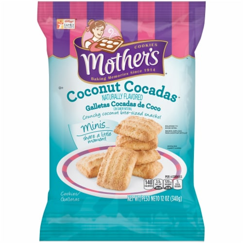Mother's Minis Coconut Cocadas Cookies Perspective: front