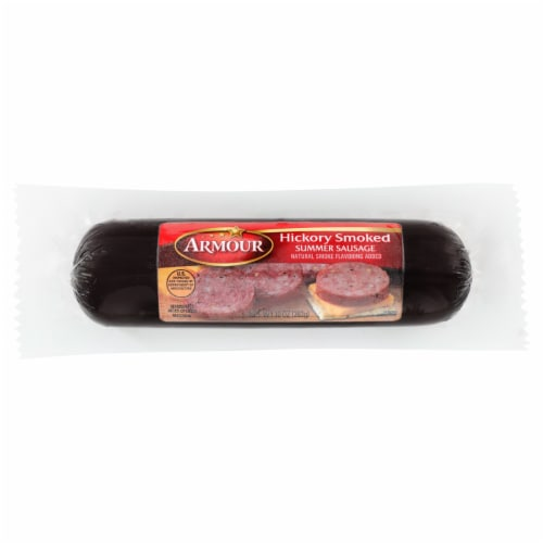 Armour Hickory Smoked Summer Sausage Perspective: front