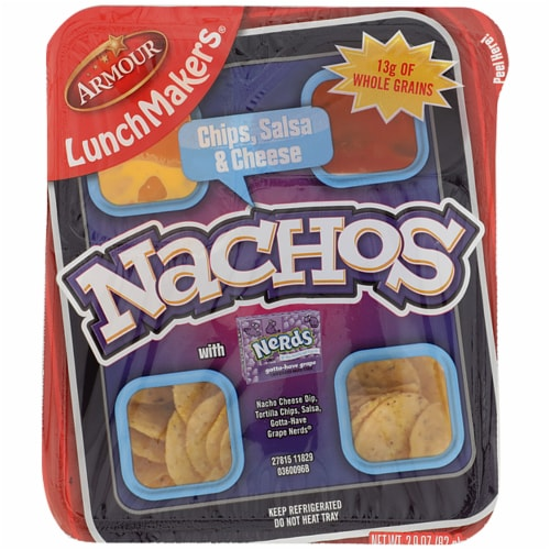 Armour LunchMakers Nachos Meal Kit Perspective: front