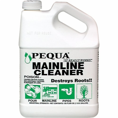 Pequa 128 Oz. Mainline Drain Cleaner  P-128 Pack of 3 Perspective: front