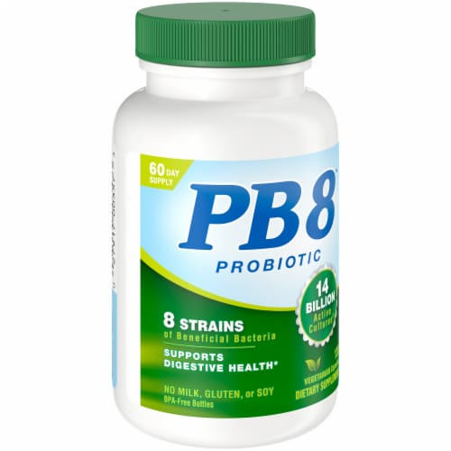 Nutrition Now PB 8 Probiotic Acidophilus for Life Capsules 120 Count Perspective: front