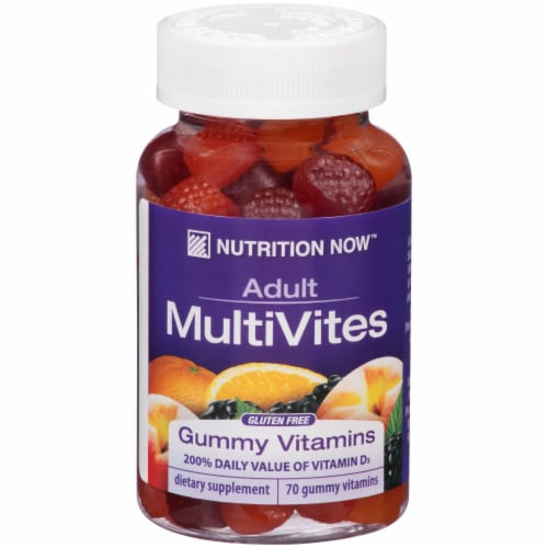 Nutrition Now Adult MultiVites Gummies Perspective: front