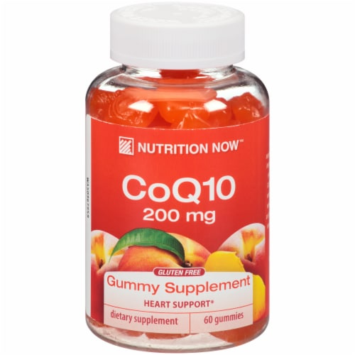 Nutrition Now CoQ10 Gummies Perspective: front