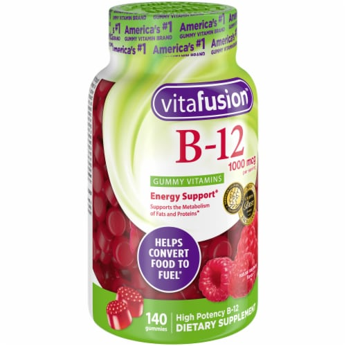Vitafusion B12 1000mcg Gummies Perspective: front