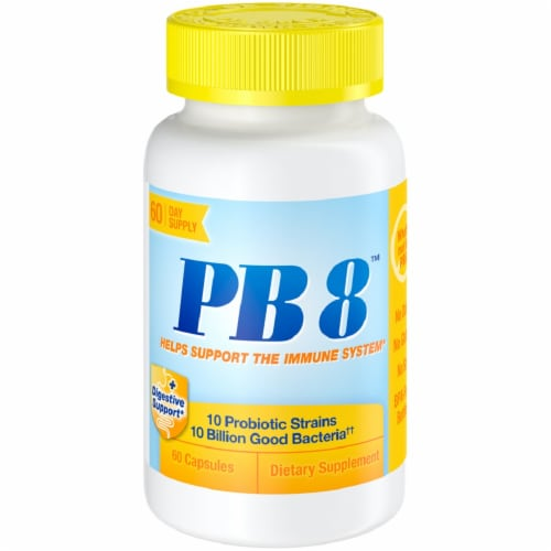 Nutrition Now PB 8 Immune System Support Capsules Perspective: front