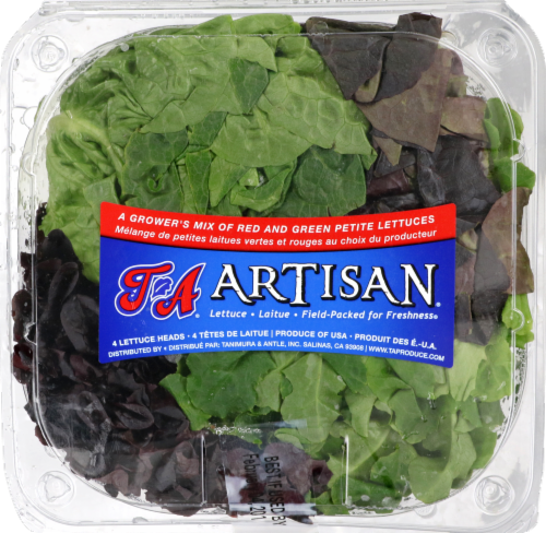 Artisian Lettuce Perspective: front