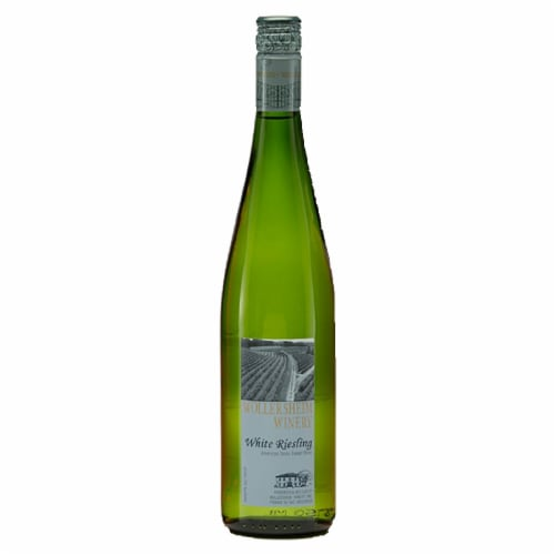 Wollersheim Winery White Reisling Perspective: front