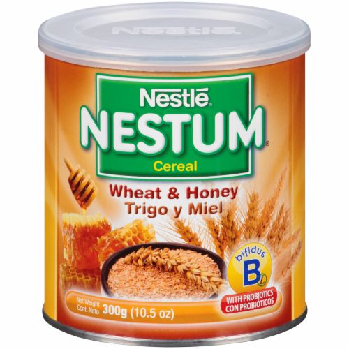 Nestle Nestum Wheat & Honey Baby Cereal Perspective: front