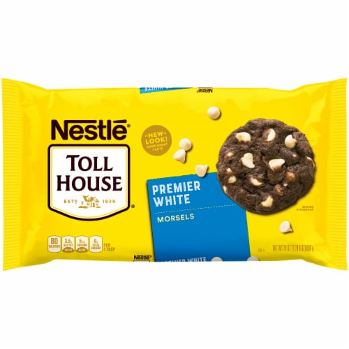 Nestle Toll House Premier White Morsels Perspective: front